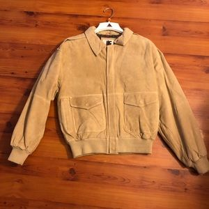 NWOT • Suede Leather Jacket